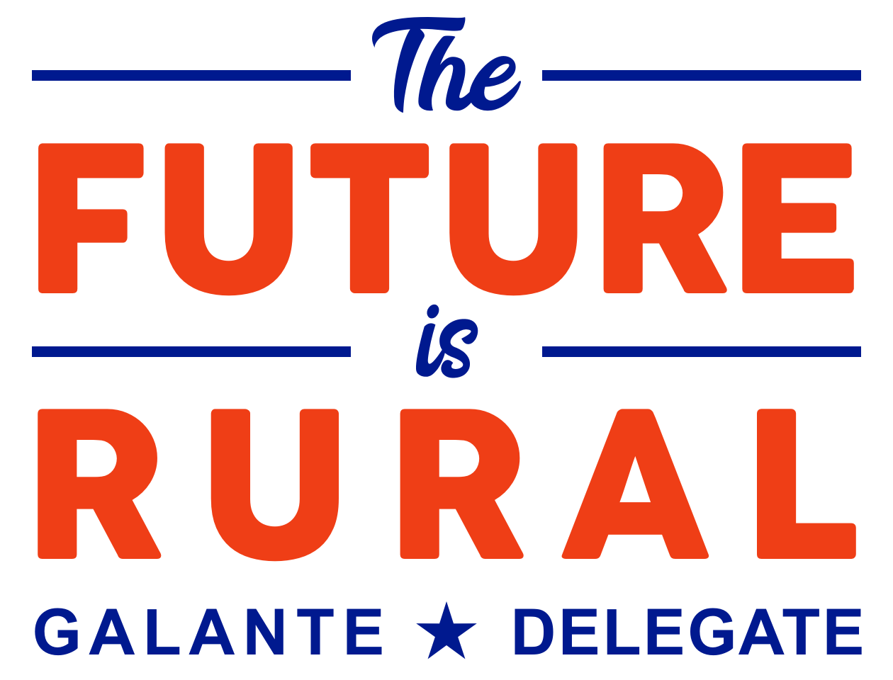 The Future is Rural Color Logo