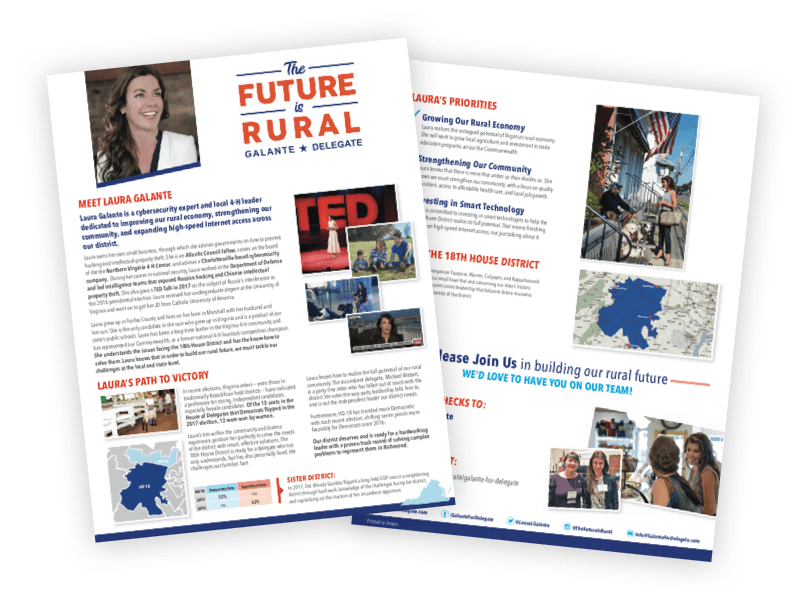 Laura Galante for Delegate - PDF Version